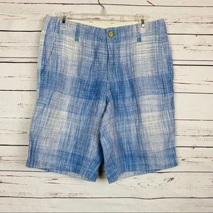 Tommy Bahama Orinoco linen shorts